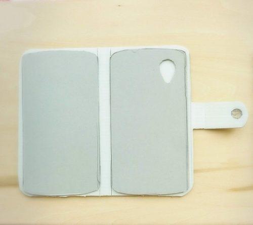 ハンドメイド手帳型スマホケースの作り方(型紙)