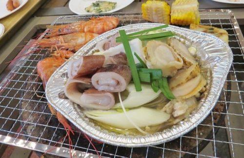 八景島シーパラダイス「海のバーベキュー焼屋」の冬・夕方限定の鍋メニュー