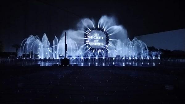 よみうりランドのイルミネーション ジュエルミネーション2020 噴水ショー