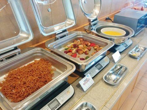 ホテルシーパラダイスインの朝食バイキング