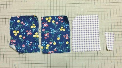 手作りパスケース(カードケース)の材料である布