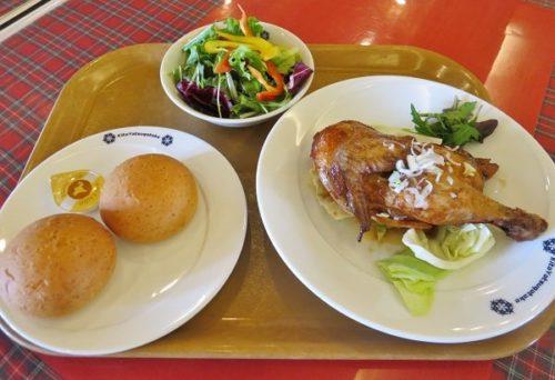 ピラタス蓼科スノーリゾートの「センターハウスレストラン」のおすすめランチセット