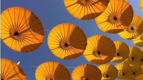 日傘(日焼け止めサプリイメージ)