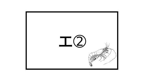 よみうりランドナイトプールの「アビスバスター」暗号イメージ図