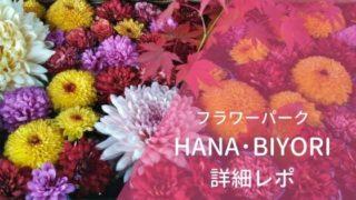 フラワーパークHANA・BIYORIハナビヨリ詳細レポート