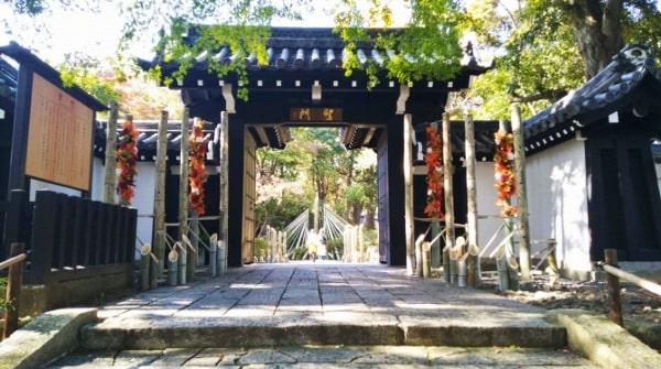HANA・BIYORI ハナビヨリ(聖なる森)にある京都御所から移築されたといわれる聖門