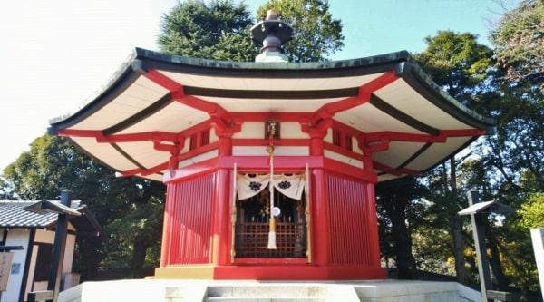 国宝・妙見菩薩像が安置される妙見堂