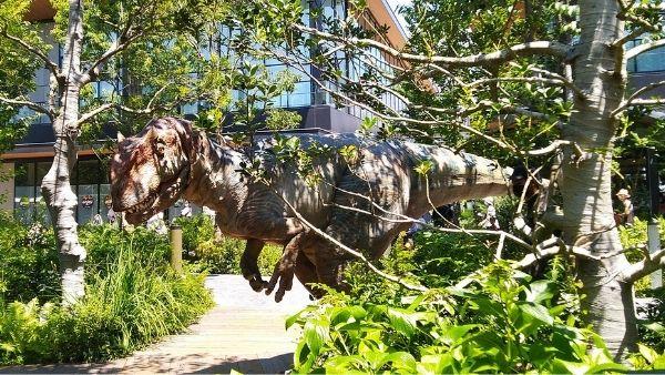 恐竜を間近で見られるポイント解説2(恐竜が立川に棲みついた!レポート)